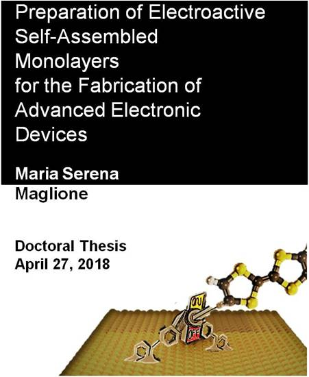 Congratulations to Serena Maglione for her PhD Thesis
